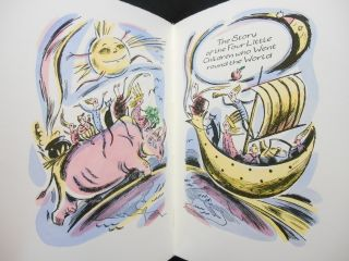 Two Nonsense Stories: The Story of the Four Little Children Who Went Round the World [and] The History of the Seven Families of the Lake Pipple-Popple