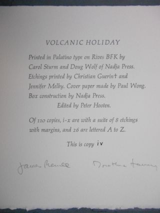 Volcanic Holiday