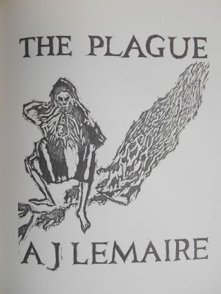 "The Plague. Daniel - Excerpts from ""A Journal of the Plague Year"" DeFoe, Nicolas McDowall,..."