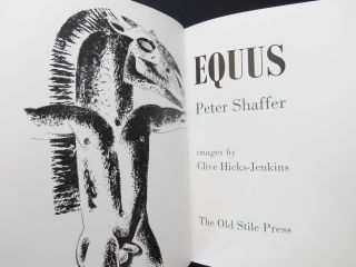 Equus [Number I of X special edition]