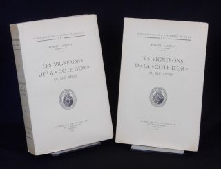 "Les Vignerons de la ""Cote d'Or"" au XIX Siecle [Winemakers from the ""Cote d'Or"" of the Nineteenth..."