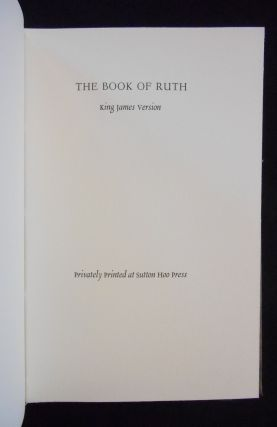 The Book of Ruth, King James Version