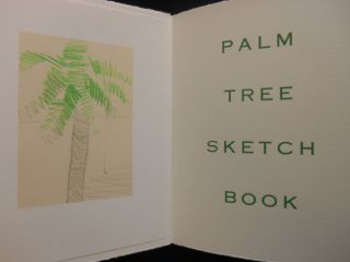 Palm Tree Sketch Book [Susan Allix]