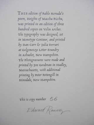 Heights of Macchu Picchu