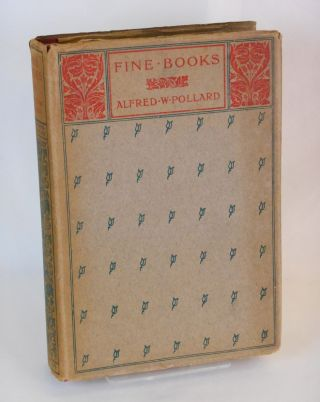 Fine Books. Alfred W. Pollard, Cyril Davenport, The Connoisseur's Library General.