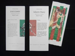 Excerpts from The Diaries of Adam & Eve
