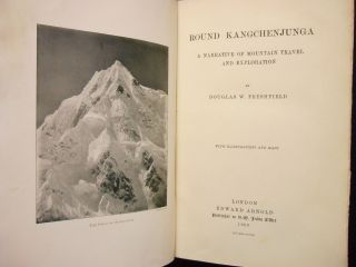 Round Kangchenjunga; A Narrative of Mountain Travel and Exploration