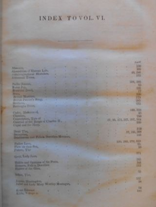 The Metropolitan Magazine, July to December, 1838, American Edition, Vol. VI